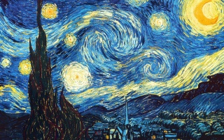 The Starry Night wallpapers and stock photos