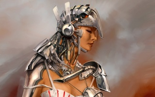 Fantasy girl - Armor wallpapers and stock photos