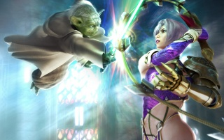 Fantasy girl - Yoda wallpapers and stock photos