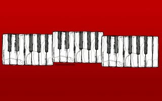 Piano keys wallpapers and stock photos