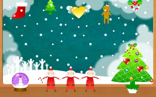 Christmas fun wallpapers and stock photos