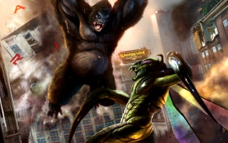 Random: King Kong vs Mantis