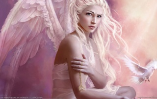 Fantasy girl - Angel wallpapers and stock photos