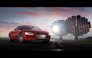 2009 Audi e-tron 6 wallpapers and stock photos