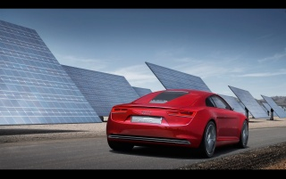 2009 Audi e-tron 15 wallpapers and stock photos