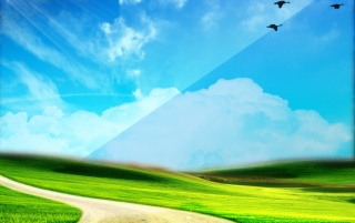 Blue Green Nature wallpapers and stock photos