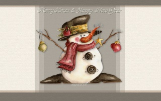 Snowman tree wallpapers and stock photos