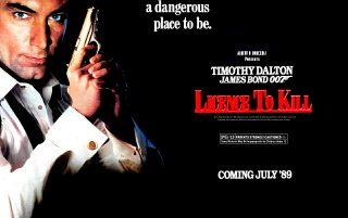 Next: 007 in Licence to kill