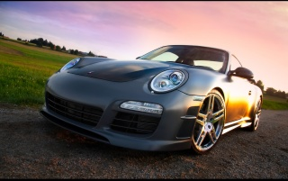 Mansory Porsche 911 Carrera Front Angle wallpapers and stock photos