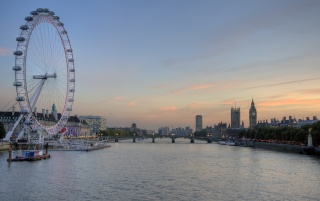Random: London Eye and Big Ben