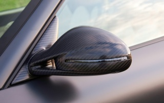 Mansory Porsche 911 Sideview Mirror wallpapers and stock photos