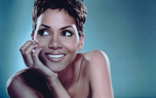 Halle Berry smile wallpapers and stock photos