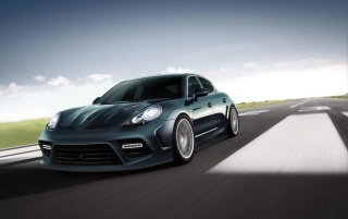 Mansory Porsche Panamera Speed wallpapers and stock photos