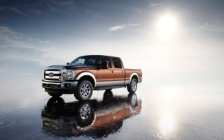 Ford F-Series Front Angle wallpapers and stock photos