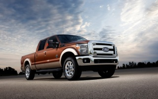 Random: Ford F-Series Front Angle 3
