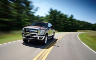 Ford F-Series Front Angle Speed wallpapers and stock photos