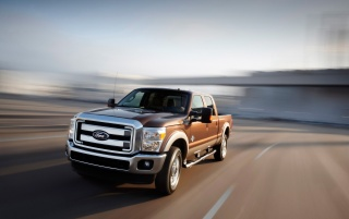 Ford F-Series Front Angle Speed 2 wallpapers and stock photos