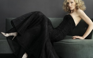 Cate Black Dress wallpapers and stock photos