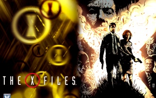 X-Files comic cover wallpapers and stock photos