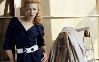 Cate Blue Coat wallpapers and stock photos