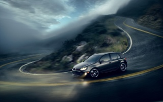 Volkswagen GTI Turn wallpapers and stock photos