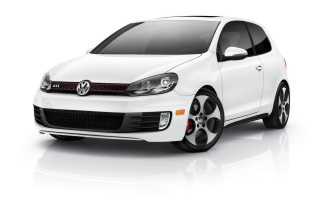 Volkswagen GTI White wallpapers and stock photos
