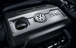 Volkswagen GTI Engine wallpapers and stock photos