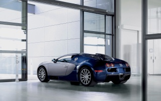 Bugatti Veyron back wallpapers and stock photos