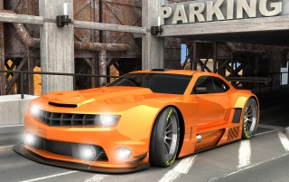 Random: Camaro ALMS Orange