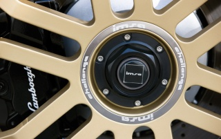 Random: IMSA Gallardo Wheel Closeup