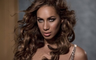 Leona Lewis Closeup wallpapers and stock photos