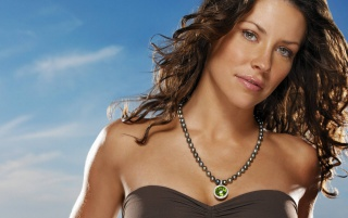 Evangeline Lilly Gesicht wallpapers and stock photos