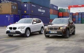 BMW X1 Duo wallpapers and stock photos