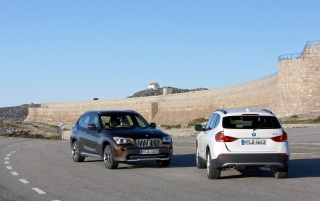 BMW X1 Duo 2 wallpapers and stock photos
