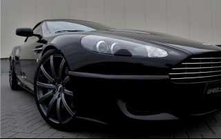 Random: Aston Martin DB9 Convertible Front Section