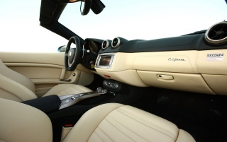 Ferrari California Dashboard 2 wallpapers and stock photos