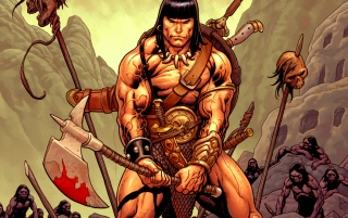 Conan: the Barbarian wallpapers and stock photos