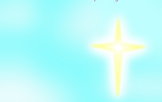 Cross From Heaven wallpapers and stock photos