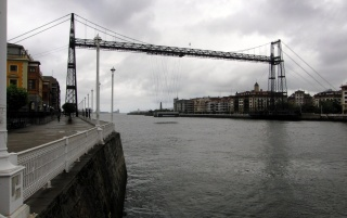 Puente Colgante Portugalete wallpapers and stock photos