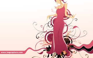 Pink Theme Skirt Girl wallpapers and stock photos