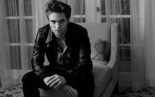 Random: Robert Pattinson Black and White
