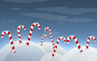Christmas Candyland wallpapers and stock photos
