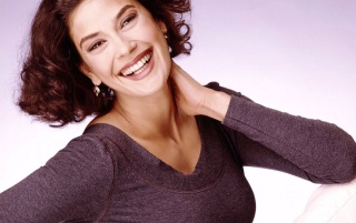 Teri Hatcher smile wallpapers and stock photos