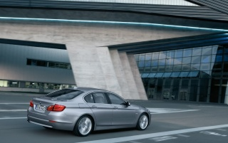 5 Series Rear and Side Speed Angle 4 wallpapers and stock photos