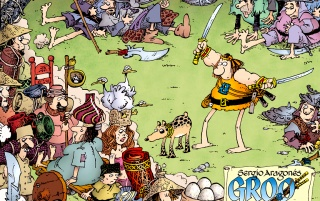 Adventures of Groo wallpapers and stock photos