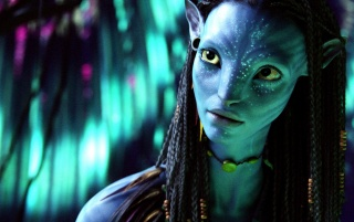 Avatar Neytiri wallpapers and stock photos