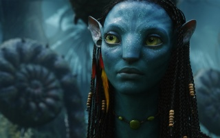 Avatar Neytiri 2 wallpapers and stock photos
