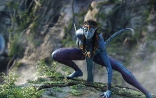 Avatar Neytiri 3 wallpapers and stock photos