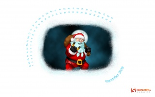 Crazy Santa wallpapers and stock photos