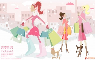 Christmas Shopping wallpapers and stock photos